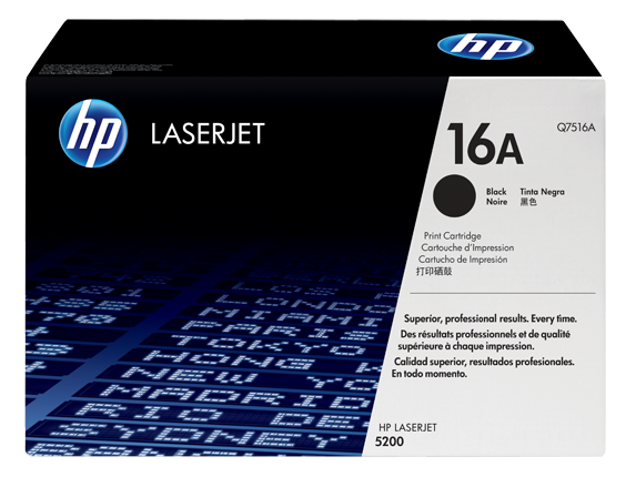 HP 16A Original Toner Cartridge (Q7516A) 12,000 pages