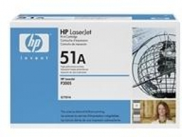 HP 51A Original Toner Cartridge (Q7551A) 6,500 pages