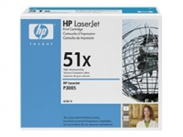HP 51X Original Toner Cartridge Twin Pack (Q7551XD) 26,000 pages