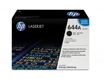 HP 644A Black Original Toner Cartridge (Q6460A) 12,000 pages