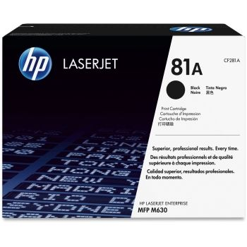 HP 81A Original Toner CF281A 10,500 Pages