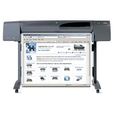 HP Designjet 800 Large Format Printer (A0) C7780B - Refurbished - With 12 months On-Site Warranty