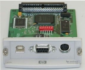 HP JetDirect Connectivity Card - J4135A - Serial, USB & LocalTalk
